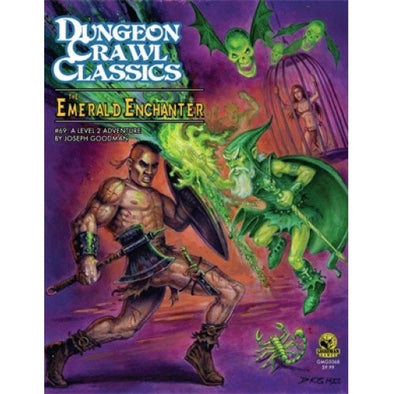 Dungeon Crawl Classics: The Emerald Enchanter - 401 Games