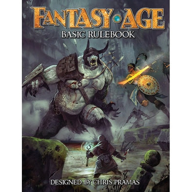 Fantasy Age - Basic Rulebook - 401 Games
