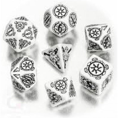 Buy Dice Set - Q-Workshop - 7 Piece Set - Pathfinder - Shattered Star and more Great Dice Products at 401 Games