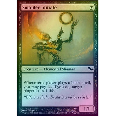 Smolder Initiate (Foil) (SHM) available at 401 Games Canada