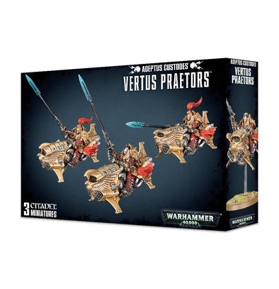 Buy Warhammer 40,000 - Adeptus Custodes - Vertus Praetors and more Great Games Workshop Products at 401 Games