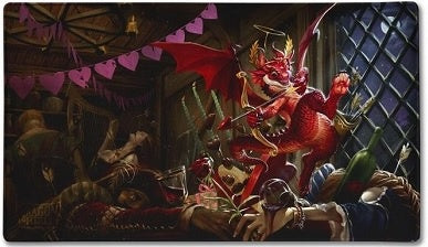 Dragon Shield - Play Mat - Valentine Dragon 2020