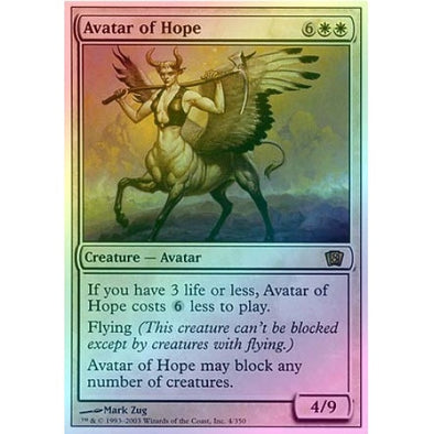 Avatar of Hope (Foil) available at 401 Games Canada