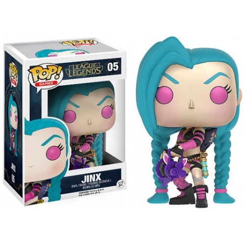 Buy Pop! League of Legends - Jinx and more Great Funko & POP! Products at 401 Games