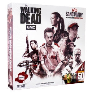 The Walking Dead - No Sanctuary The Board Game - Survivor Edition