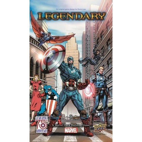 Marvel Legendary - Deck Building Game - Captain America 75th Anniversary Expansion available at 401 Games Canada