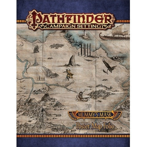 Buy Pathfinder - Campaign Settings - Mummy's Mask Poster Map Folio and more Great RPG Products at 401 Games