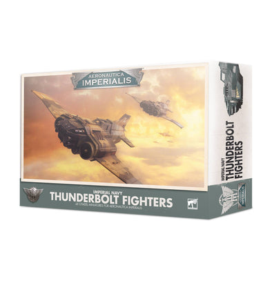 Aeronautica Imperialis - Imperial Navy - Thunderbolt Fighters