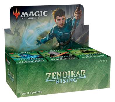 MTG - Zendikar Rising - Draft Booster Box available at 401 Games Canada