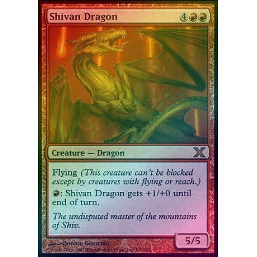 Shivan Dragon (Foil) available at 401 Games Canada