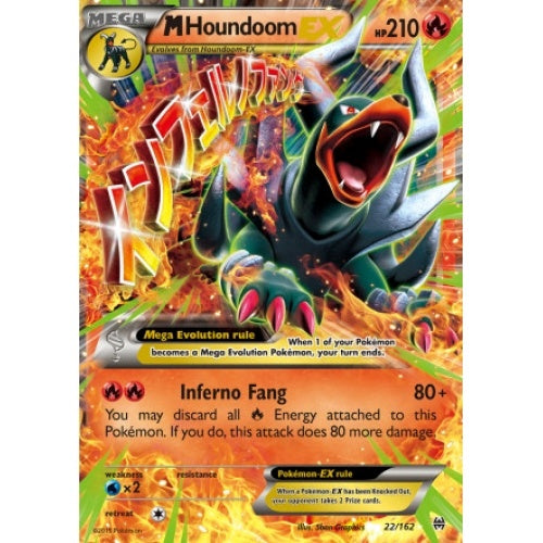 M Houndoom EX - 22/162 (BKT022) available at 401 Games Canada