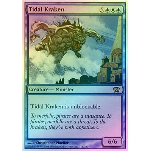 Tidal Kraken (Foil) available at 401 Games Canada