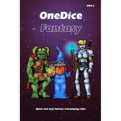 One Dice - Fantasy - Core Rulebook - 401 Games