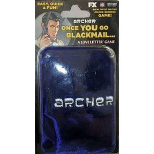 Love Letter - Archer: Once You Go Blackmail - Bag Edition - 401 Games