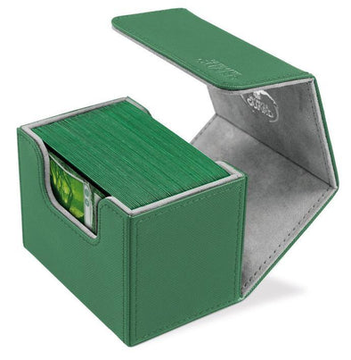 Ultimate Guard - Sidewinder Deck Case Xenoskin 100+ - Green available at 401 Games Canada