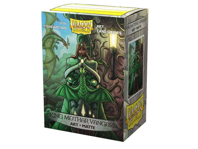 Dragon Shield - 100ct Standard Size - Art - King Mothar Vangard Matte available at 401 Games Canada