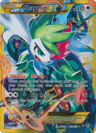 Buy Shaymin-EX - 77a/108 and more Great Pokemon Products at 401 Games