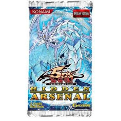 Yugioh - Hidden Arsenal 1 - Booster Pack available at 401 Games Canada