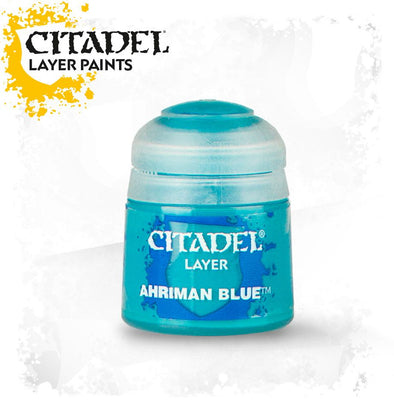 Buy Citadel Layer - Ahriman Blue and more Great Games Workshop Products at 401 Games