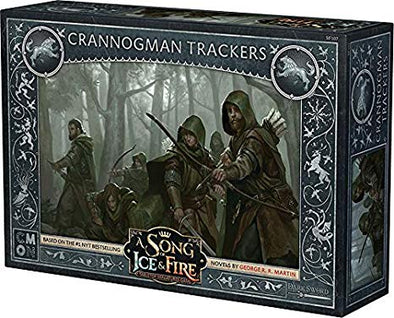 A Song of Ice and Fire - Tabletop Miniatures Game - House Stark - Crannogman Trackers - 401 Games