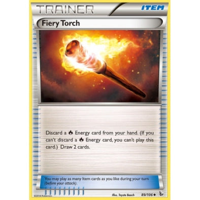 Buy Fiery Torch - 89/106 - Reverse Foil and more Great Pokemon Products at 401 Games