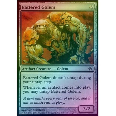 Battered Golem (Foil) (5DN) - 401 Games