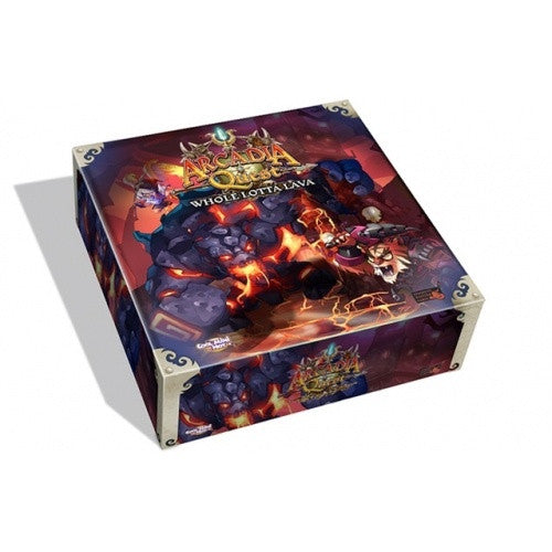 Buy Arcadia Quest - Whole Lotta Lava Expansion and more Great Board Games Products at 401 Games