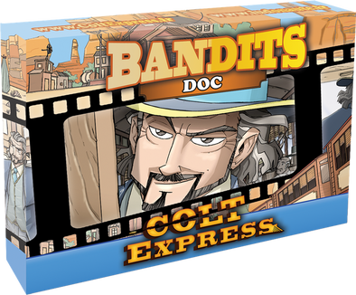 Colt Express - Bandit Pack - Doc Expansion - 401 Games