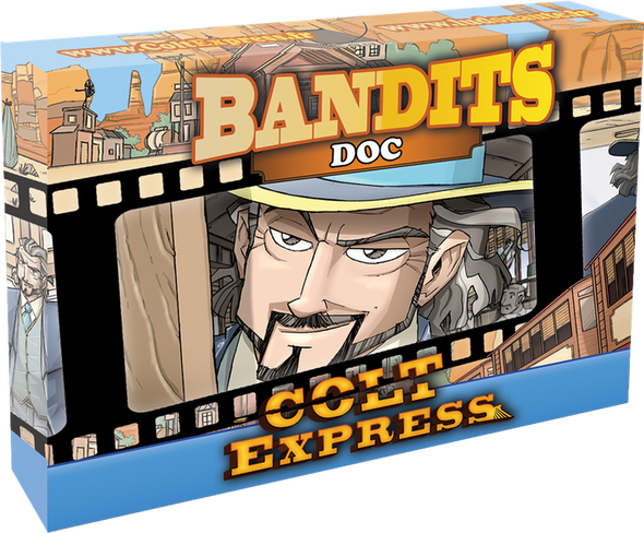 Buy Colt Express - Bandit Pack - Doc Expansion and more Great Board Games Products at 401 Games
