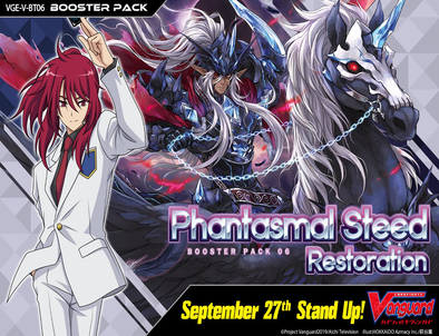 CARDFIGHT VANGUARD - V Booster Set 06: Phantasmal Steed Restoration Booster Box