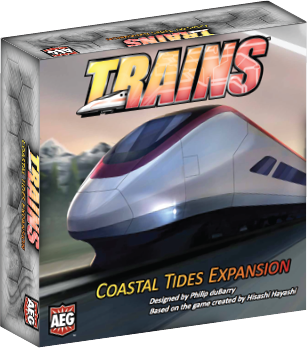 Buy Trains - Coastal Tides and more Great Board Games Products at 401 Games