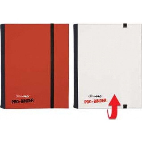 Buy Ultra Pro - Pro Binder 4 Pocket - Red and White and more Great Sleeves & Supplies Products at 401 Games