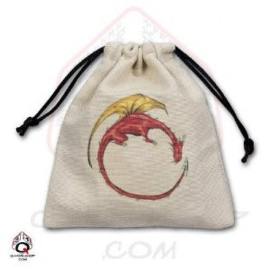 Q-Workshop - Dice Bag - Dragon - 401 Games
