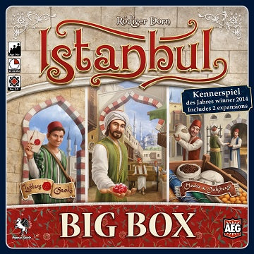 Buy Istanbul Big Box and more Great Board Games Products at 401 Games