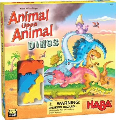 Animal Upon Animal - Dinosaurs available at 401 Games Canada