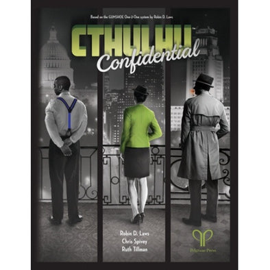 Cthulhu Confidential - Core Rulebook - 401 Games