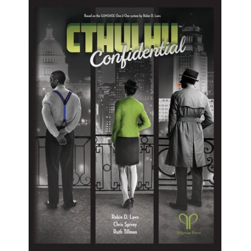 Buy Cthulhu Confidential - Core Rulebook and more Great RPG Products at 401 Games