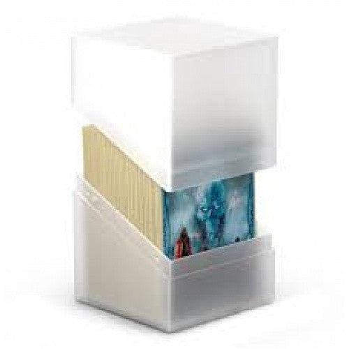 Buy Ultimate Guard - Boulder Deck Case 100+ Frosted White and more Great Sleeves & Supplies Products at 401 Games