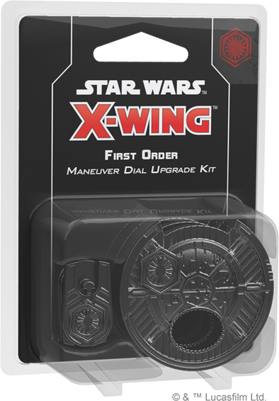 Buy Star Wars: X-Wing - Second Edition - First Order Maneuver Dial Kit and more Great Board Games Products at 401 Games