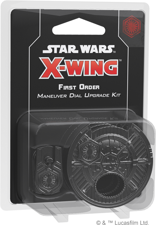Star Wars: X-Wing - Second Edition - First Order Maneuver Dial Kit - 401 Games