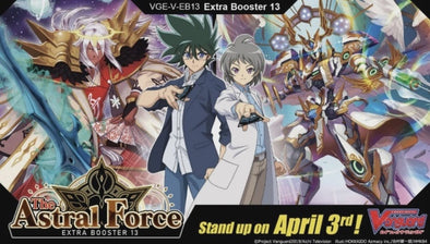 CARDFIGHT VANGUARD - V Extra Booster 13: The Astral Force (Pre-Order April 3, 2020)