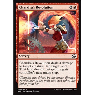 Chandra's Revolution (AER) available at 401 Games Canada