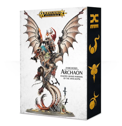 Buy Warhammer - Age of Sigmar - Everchosen - Archaon, Exalted Grand Marshall of the Apocalypse and more Great Games Workshop Products at 401 Games