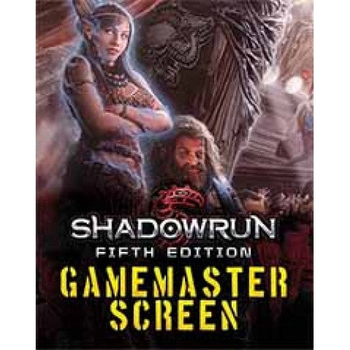 Shadowrun 5th Edition - Game Master Screen - 401 Games