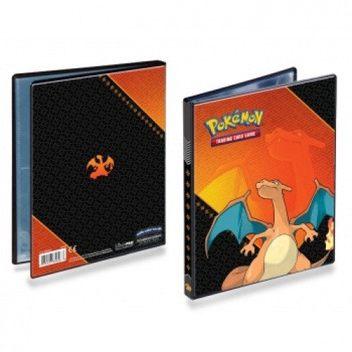 Buy Ultra Pro - Binder 4 Pocket - Pokemon - Charizard and more Great Sleeves & Supplies Products at 401 Games