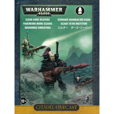 Buy Warhammer 40,000 - Craftworlds - Eldar Dark Reapers and more Great Games Workshop Products at 401 Games