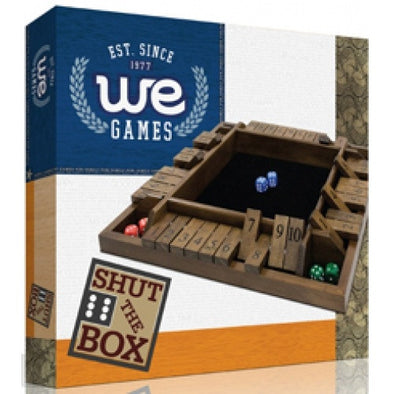 Buy Shut the Box - 4 Player - Wood Expressions and more Great Board Games Products at 401 Games