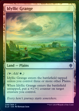 Idyllic Grange (Foil) (ELD) available at 401 Games Canada