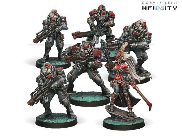 Infinity - Combined Army - Morat Aggression Force - Starter Pack available at 401 Games Canada