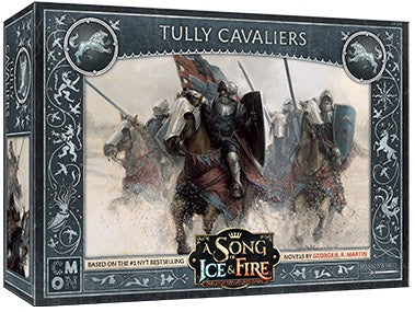 A Song of Ice and Fire - Tabletop Miniatures Game - House Stark - Tully Cavaliers - 401 Games